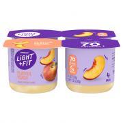 Dannon Light & Fit Traditional Peach Yogurt