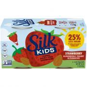Silk Kids Strawberry Almondmilk Yogurt Alternative
