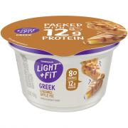 Dannon Light & Fit Apple Pie Greek Yogurt