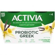 Dannon Activia Greek Vanilla Nonfat Yogurt