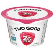 Dannon Two Good Raspberry Greek Yogurt
