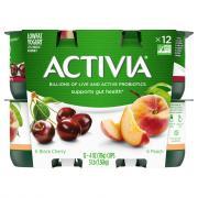 Dannon Activia Peach & Black Cherry Yogurt