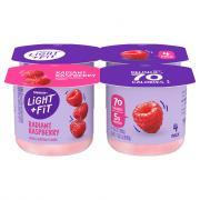 Dannon Light & Fit Traditional Raspberry Yogurt