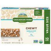 Cascadian Farm Organic Chewy Granola Bars Vanilla Chip