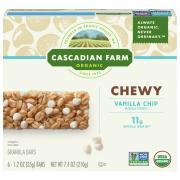 Cascadian Farm Organic Vanilla Chip Granola Bars