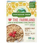Cascadian Farm Organic Honey Nut O's Cereal