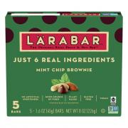 Larabar Mint Chocolate Chip Brownie Bars