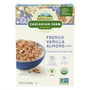 Cascadian Farm Organic French Vanilla Almond Granola