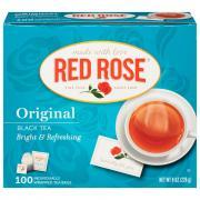 Red Rose Tea Bags