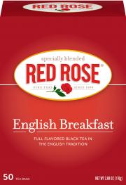 Red Rose English Breakfast Tea Bags