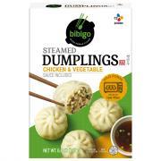 Bibigo Chicken & Vegetable Korean Style Steamed Dumplings
