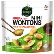 Bibigo Pork & Vegetable Korean Style Mini Wontons