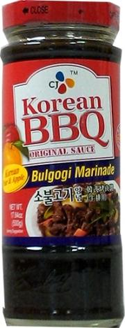 CJ Korean Beef Barbecue Sauce