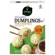 Bibigo Pork & Vegetable Korean Style Steamed Dumplings