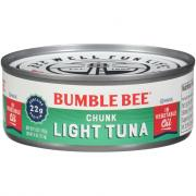 Bumble Bee Chunk Light Tuna in Oil