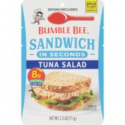 Bumble Bee Sandwich Tuna Salad Pouch
