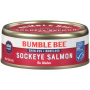 Bumble Bee Boneless Red Salmon in Water
