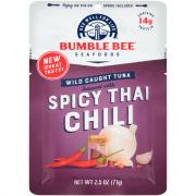 Bumble Bee Tuna In Water with Thai Chili Pouch