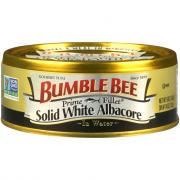 Bumble Bee Solid White Prime Tuna Fillets in Water