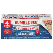 Bumble Bee Solid White Albacore Tune in Vegetable Oil