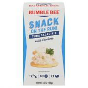 Bumble Bee Snack On The Run Tuna Salad Kit With Crackers