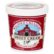 Walpole Creamery Sweet Cream Ice Cream