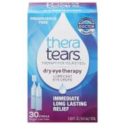 Thera Tears Dry Eye Therapy Drops Sterile Single-Use Vials