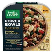 Healthy Choice Power Bowl Unwrapped Burrito Scramble
