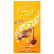 Lindt Milk Chocolate Caramel Truffle Bag