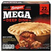 Banquet Mega Deep Dish Meat Lovers Pot Pie