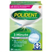Polident Denture Cleanser Tablets