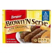Banquet Brown 'N Serve Lite Original Sausage Links