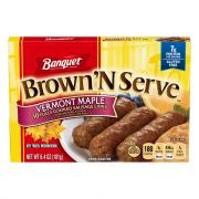 Banquet Brown 'N Serve Maple Sausage Links