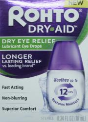 Rohto Dry Aid Dry Eye Relief Drops