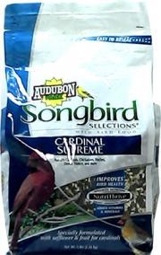 Audubon Songbird Selections Cardinal Supreme Bird Seed