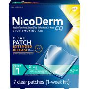 Nicoderm CQ Clear Patch Step 1 21mg