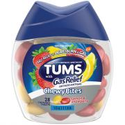 Tums Chewy Bites With Gas Relief Lemon & Strawberry