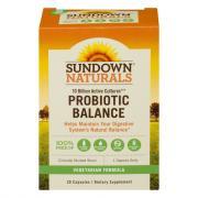 Sundown Naturals Probiotic Balance Capsules