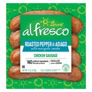 Al Fresco Roasted Pepper and Asiago Chicken Sausage
