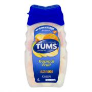 Tums Ultra 1000 Assorted Tropical Fruit Chewable Antacid