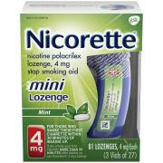 Nicorette Mini Lozenges Mint 4mg