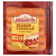 Johnsonville Smoked Sausage Beddar with Cheddar Family Pack