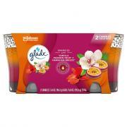 Glade Candle Hawaiian Breeze & Vanilla Passion Fruit