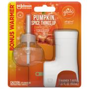 Glade Pumpkin Spice Things Up PlugIns Scented Oil Starter