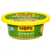Hope Organic Spicy Avocado Hummus