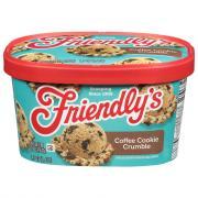 Friendly's Coffee Cookie Crumble Ice Cream