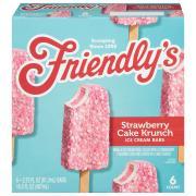 Friendly's Strawberry Cake Krunch Bars