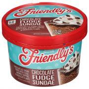 Friendly's Chocolate Fudge Sundae Cup