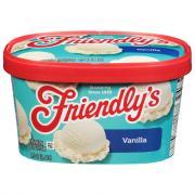 Friendly's Vanilla Ice Cream