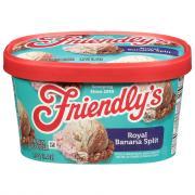 Friendly's Royal Banana Split Sundae Ice Cream